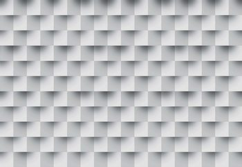 3D Brick Illusion Pattern Fototapet