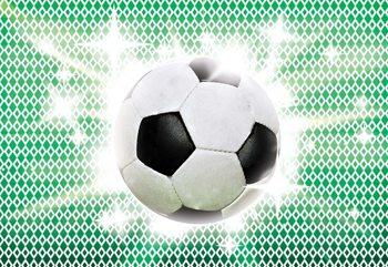 3D Football Fototapet