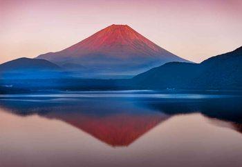 A Quiet Time In Mount Fuji Fototapet