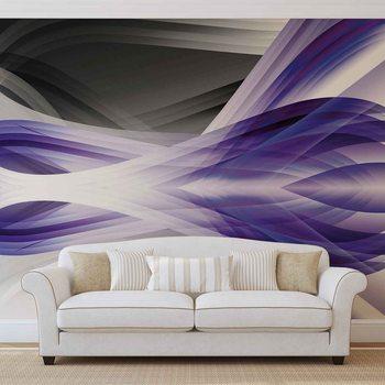 Abstract Light Pattern Purple Fototapet