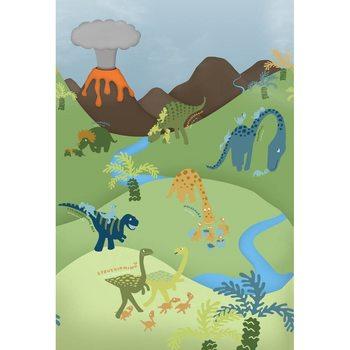 Animal Planet - Dinosaur Fototapet
