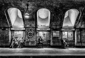 Baker Street Fototapet
