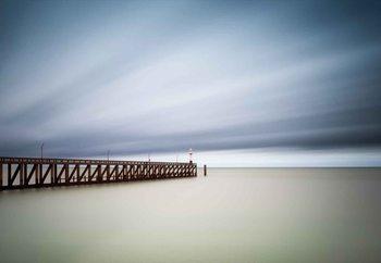Blankenberge Pier Fototapet