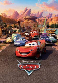 Cars - Characters Fototapet