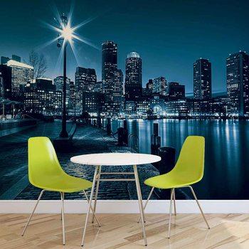 City Boston Skyline Fototapet