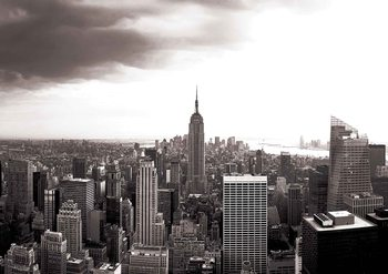 City New York Skyline Empire State Fototapet