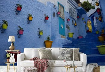 Color In Morocco Fototapet