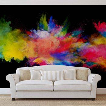 Colour Explosion Fototapet