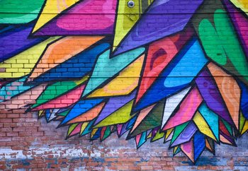 Colours Of The City Fototapet