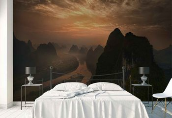Dawn At Li River Fototapet
