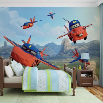Disney Cars Planes Air Mater Fototapet