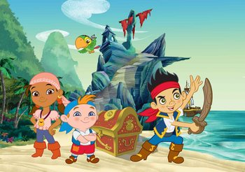 Disney Jake Neverland Pirates Fototapet