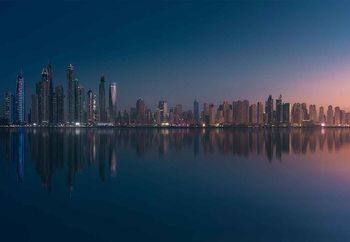 Dubai Marina Skyline Fototapet