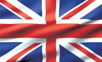 Flag Great Britain UK Fototapet