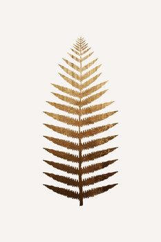 Golden leaf No.7 Fototapet