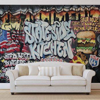 Graffiti Street Art Fototapet