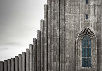 HallgraMskirkju ReykjavaK Fototapet