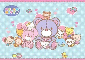 Hello Kitty Fototapet