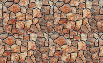 Kamienna ściana Fototapet
