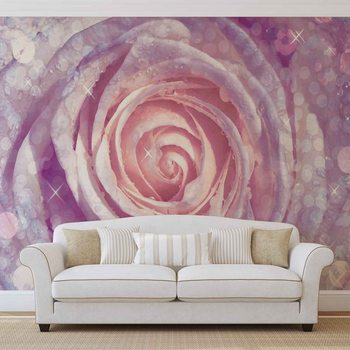 Kwiaty róże Fototapet