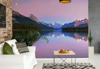 Maligne Lake Fototapet