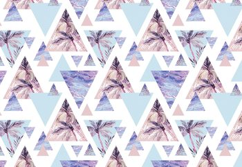Modern Tropical Pattern Fototapet