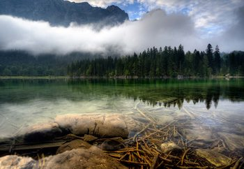 Mountain Lake Fototapet