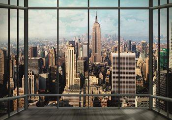 New York - Manhattan Skyline Fototapet