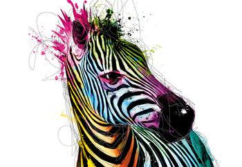 Patrice Murciano - Zebra Vinyl väggmålningar