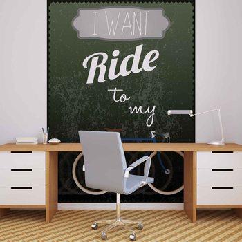 Racing Bicycle Fototapet