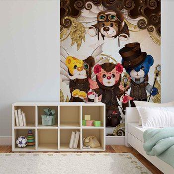 Rainbow Bears Care Bears Fototapet
