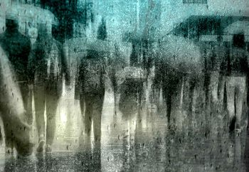 Regen Fototapet