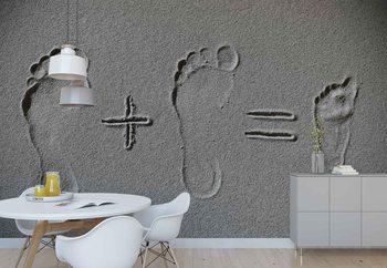 Sand Arithmetic Fototapet