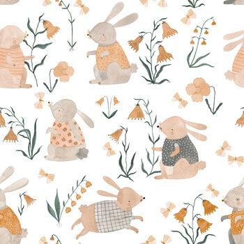 Spring Bunnies Fototapet