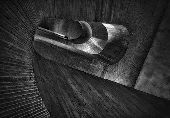 Staircase Concrete Fototapet