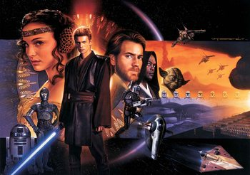 Star Wars Phantom Menace Fototapet