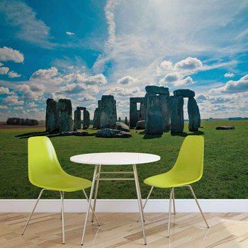Stonehenge Natur Fototapet