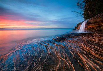 Symphony Of Sunset Fototapet
