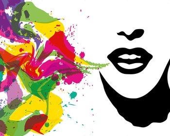 Talking Colours Fototapet