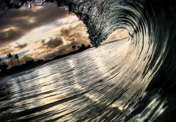 The Rolling Sea Fototapet