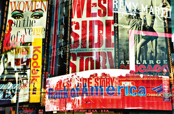 TIMES SQUARE NEON STORIES Fototapet