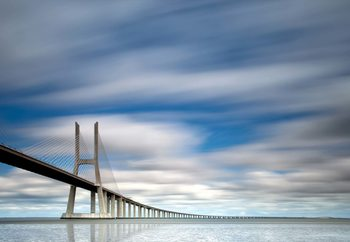 Vasco Da Gama Bridge Fototapet