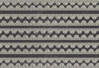 Vintage Lace Pattern Fototapet
