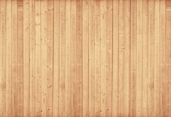 Wood Planks Light Colour Fototapet