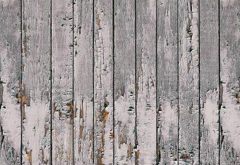 Worn Rustic Wood Plank Texture Fototapet