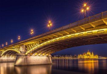 A View Of Budapest Tapéta, Fotótapéta