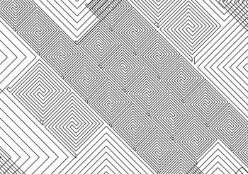 Abstract Pattern Black White Tapéta, Fotótapéta