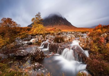 Autumn In The Glencoe Tapéta, Fotótapéta