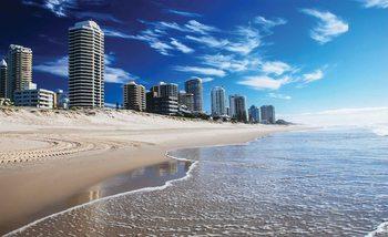Beach Gold Coast Tapéta, Fotótapéta