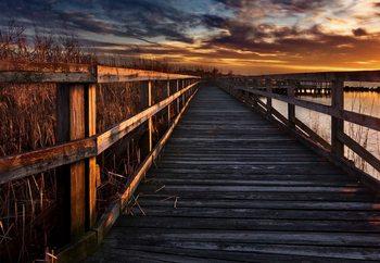 Boardwalk Tapéta, Fotótapéta